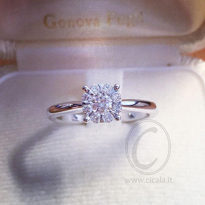 Favorito Modelli di anelli solitari online | Blog dei Preziosi QR64