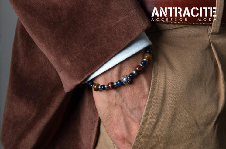 l'ultimo 736a9 091cc Antracite, il gioiello da uomo ispirato alla cultura ...