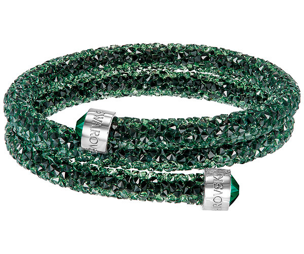 swarovski-crystaldust-bangle-double-green-5250687-w600