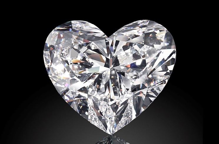 Venus il diamante a forma di cuore blog dei preziosi for Soggiorno a forma di diamante