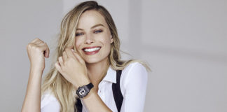 Margot Robbie con orologio Richard Mille