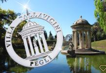 Ciondolo in argento dedicato a Villa Pallavicini