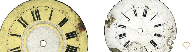 Ristampa del quadrante degli orologi