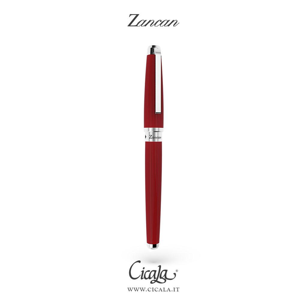 Penna rossa per cerimonia da uomo di Zancan gioielli