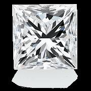 Forma dei diamanti con taglio princess