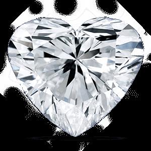 Forma dei diamanti taglio a cuore