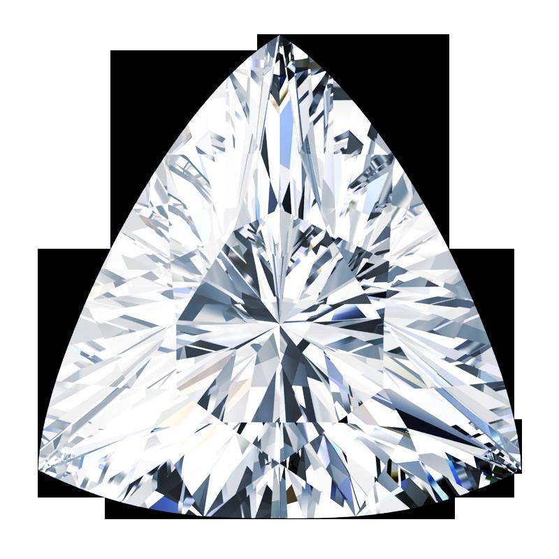 Forma dei diamanti taglio trilliant