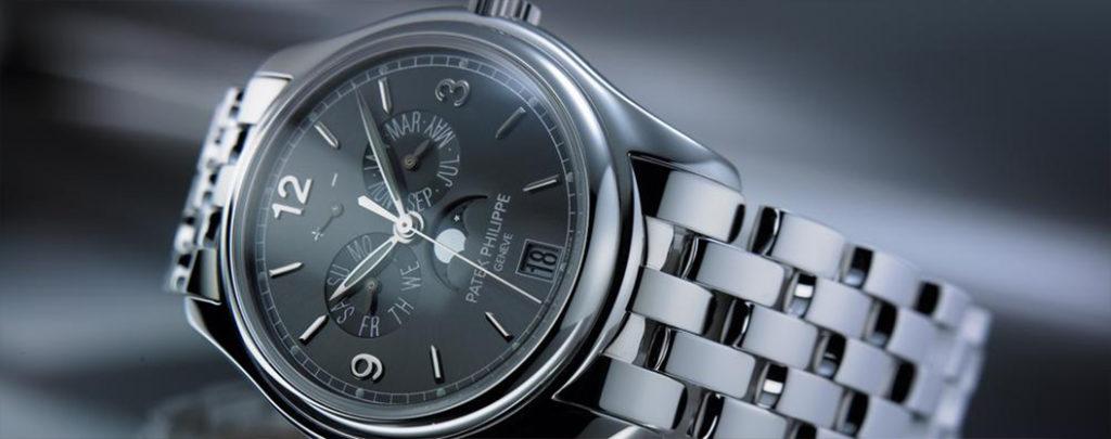 Immagine di un orologio Patek Philippe per la guida su come prendersi cura degli orologi