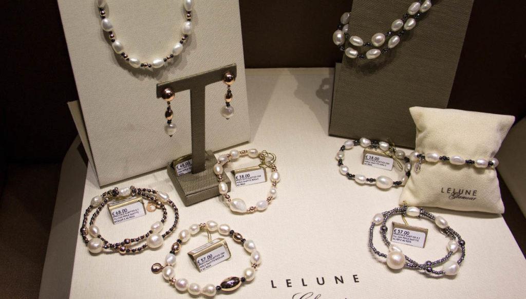 """Gioielli fashion di perle da mille e una notte presentata all'evento """"alla scoperta delle perle"""""""
