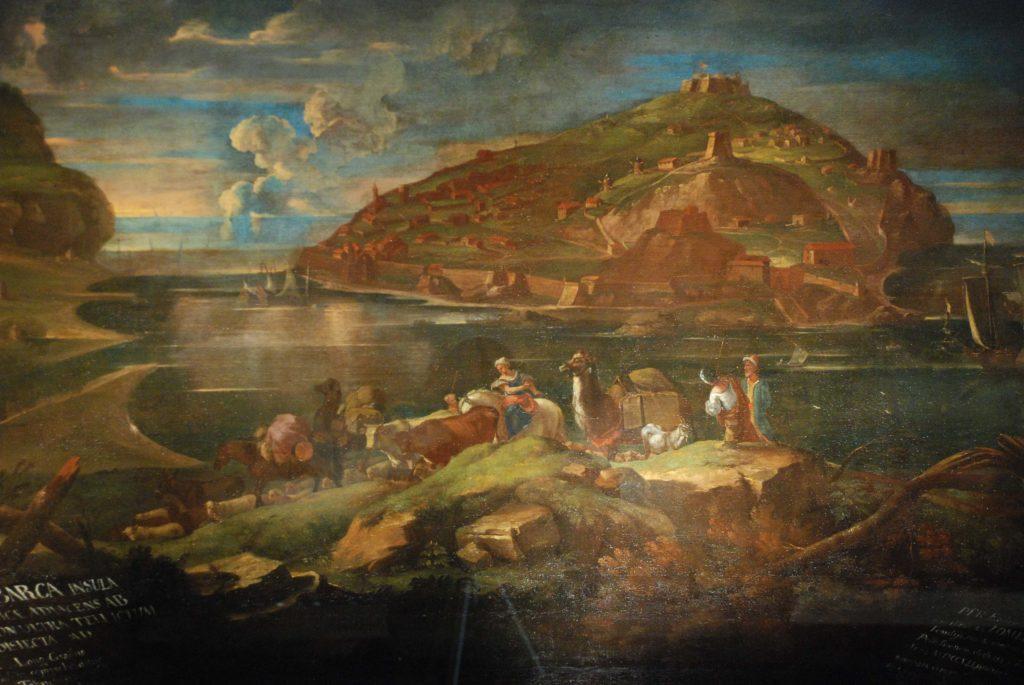 Immagine dell'isola di tabarca da cui si portava il corallo a Genova