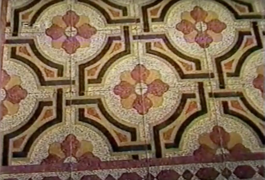 Corallo a Genova, i pavimenti della casa Costa