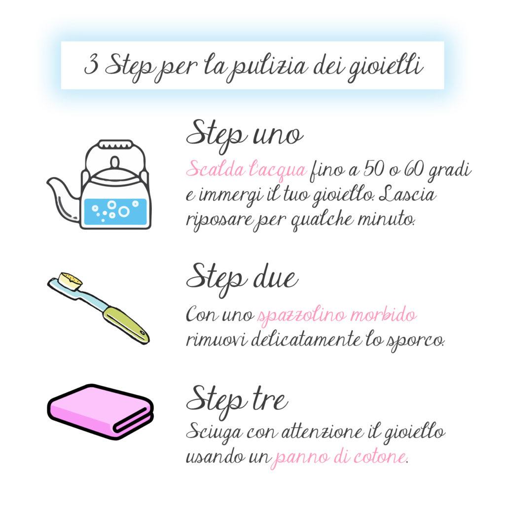 3 step importanti per imparare come pulire i gioielli