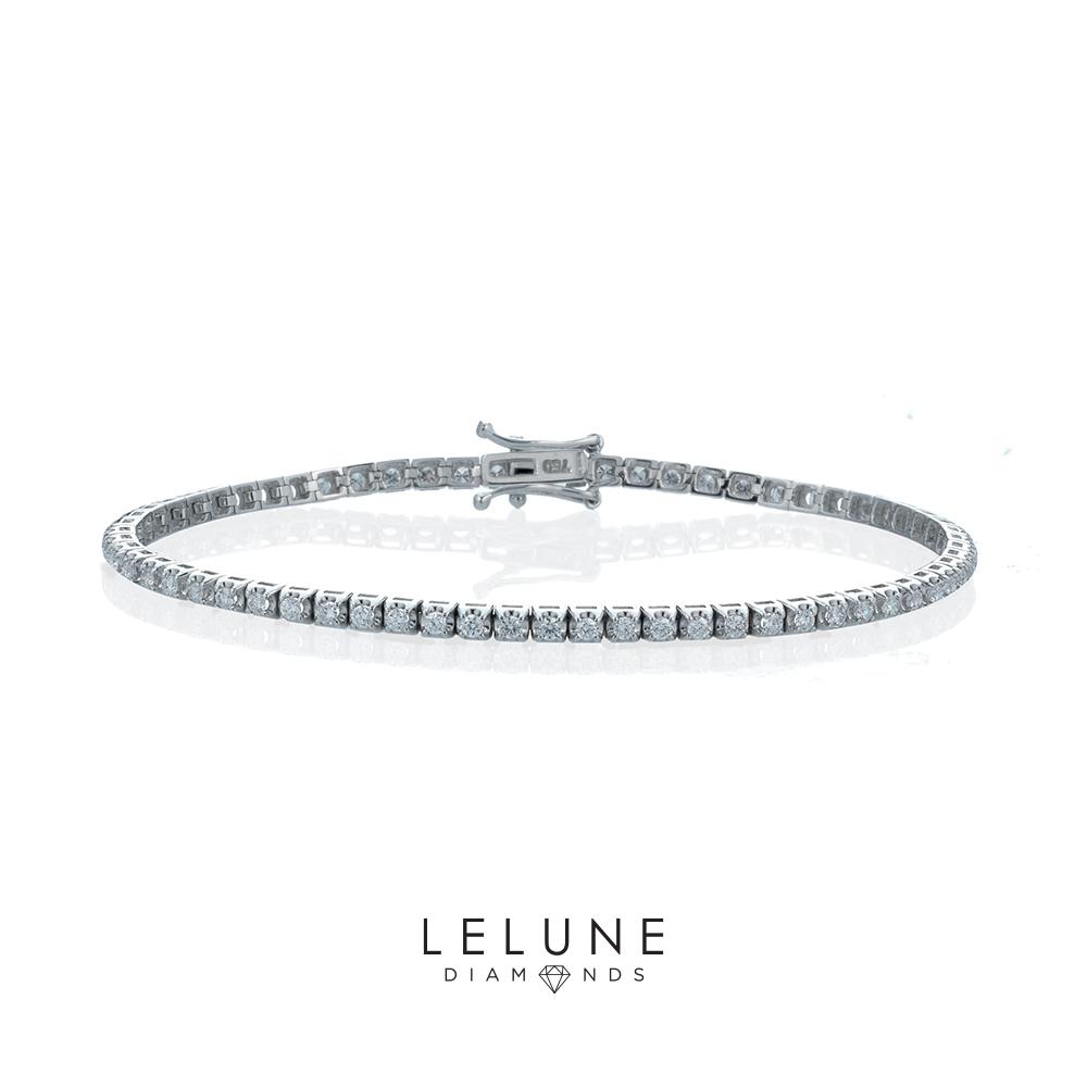 LeLune Diamonds bracciale tennis di diamanti